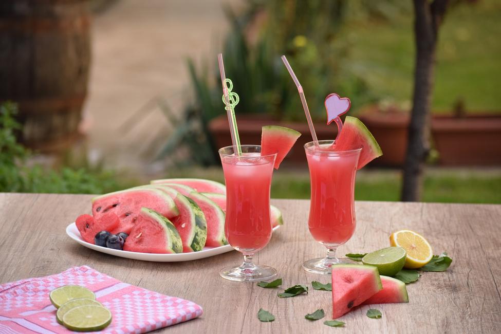 Cocktail aus Wassermelone